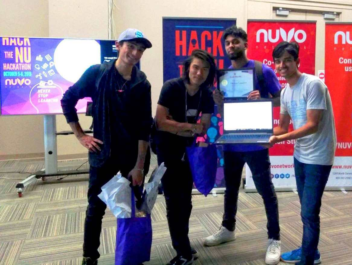 Om Agarwal - NUVO Network's Hack the NU